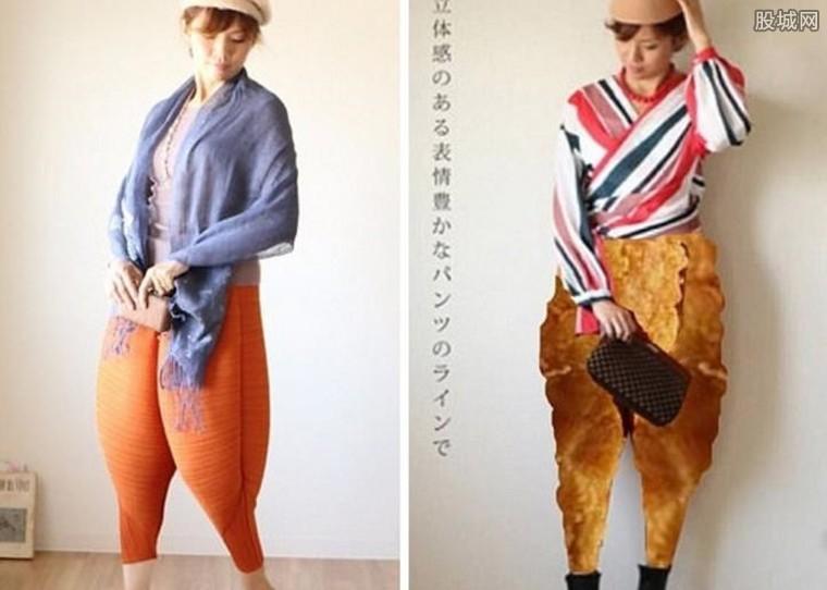 炸鸡裤风靡日本
