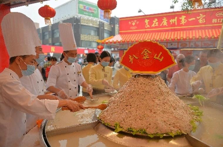 广州国际美食节现场