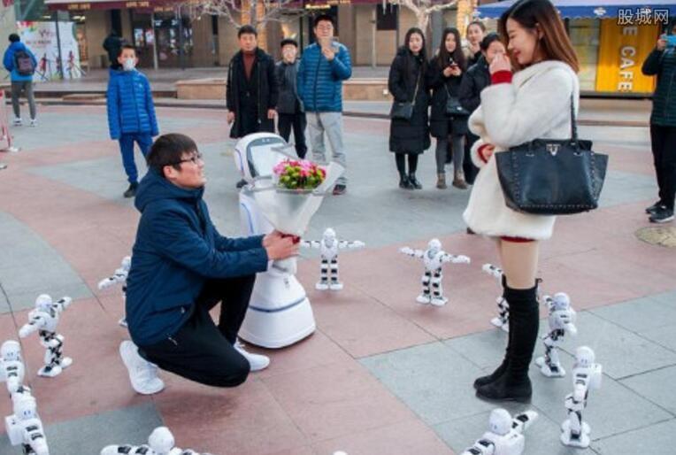 程序员携机器人求婚
