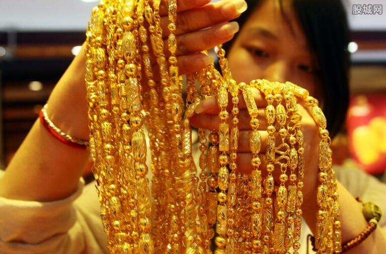 香港黄金价格