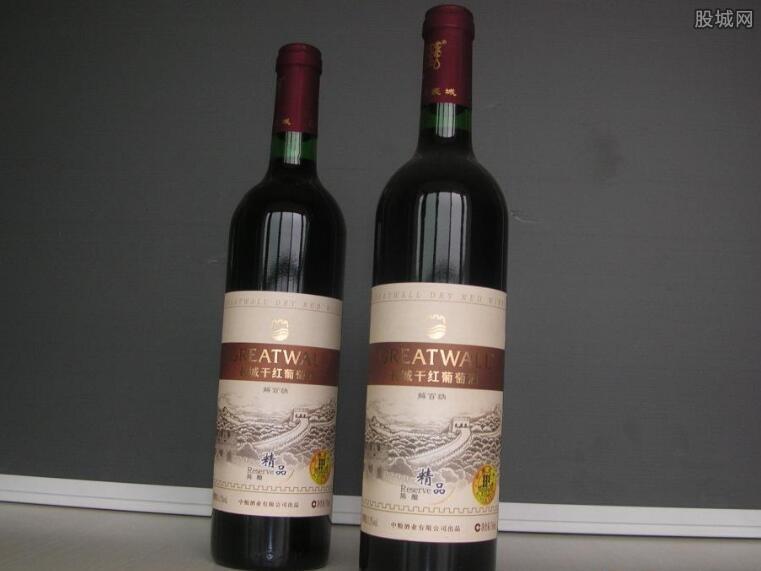 解白纳干红葡萄酒价格