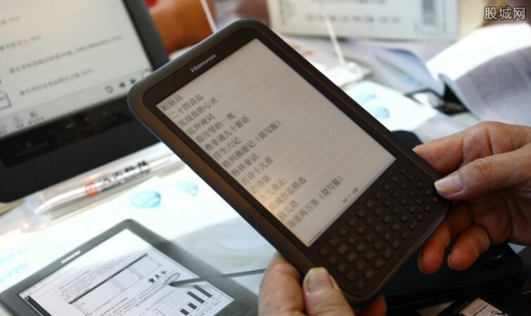 市面上电子阅读产品多