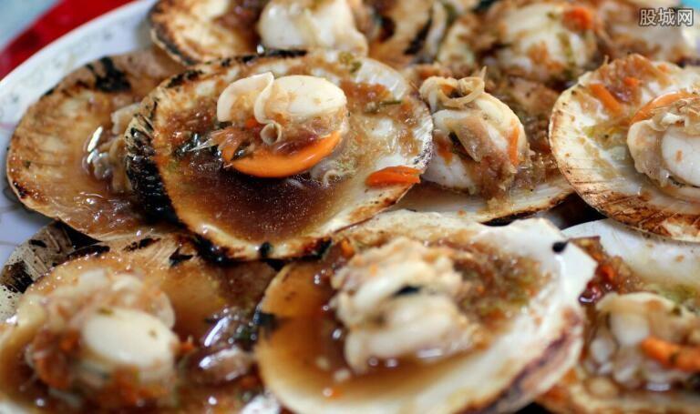 扇贝是烧烤店常见美食