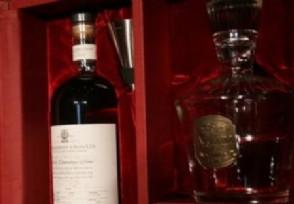 限量版威士忌拍卖 84.8万英镑成交刷新最贵纪录