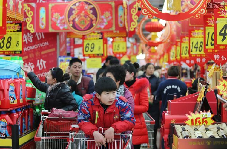 春节年货消费进入高峰期