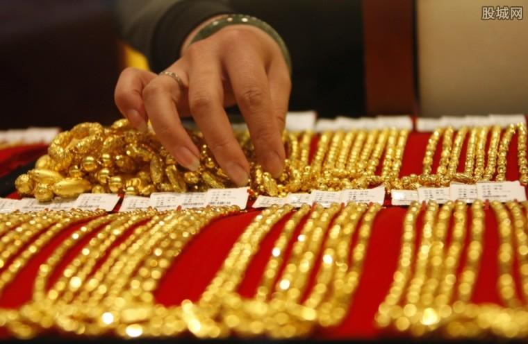 黄金价格上涨