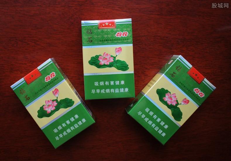 荷花香烟多少钱一包