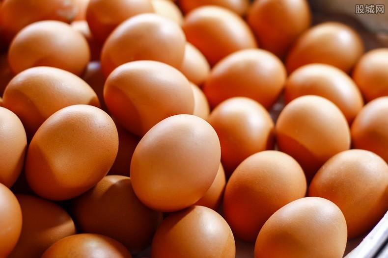 土鸡蛋染色以高价出售