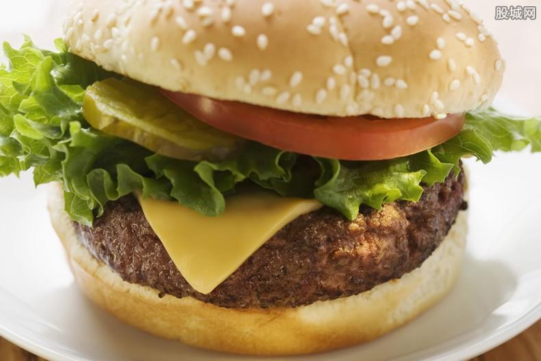 快餐尝试植物汉堡 将会提供健康饮食新选择