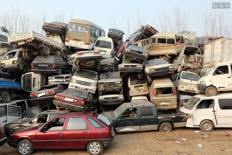 偷车买废品回收站