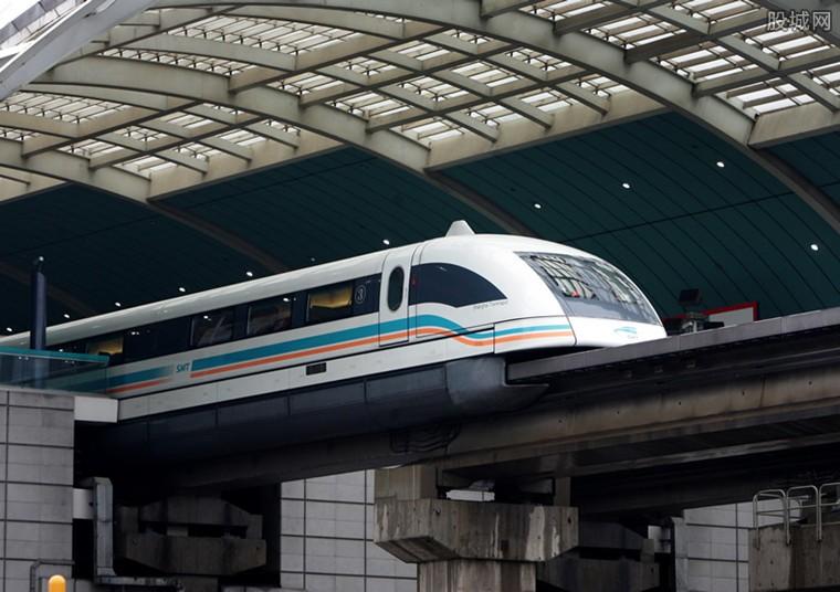 磁浮试验样车下线 高速磁浮列车时速达600公里