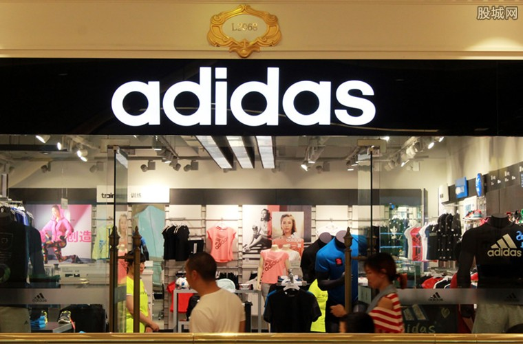 阿迪达斯推新款运动鞋