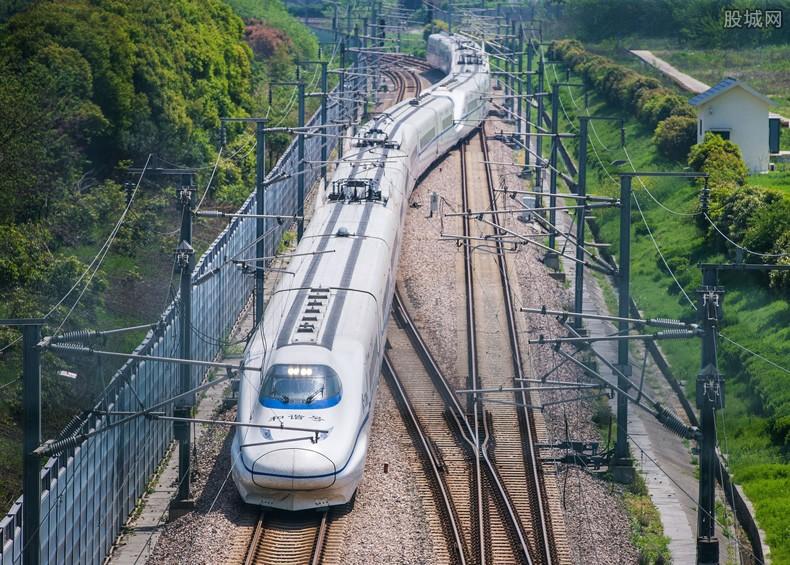 新列车运行图实施
