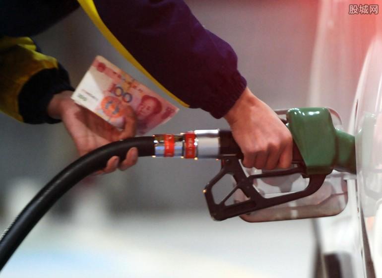 油价下降多少