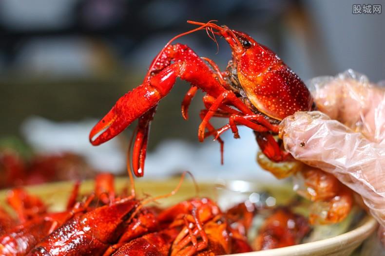 小龙虾发货量如何