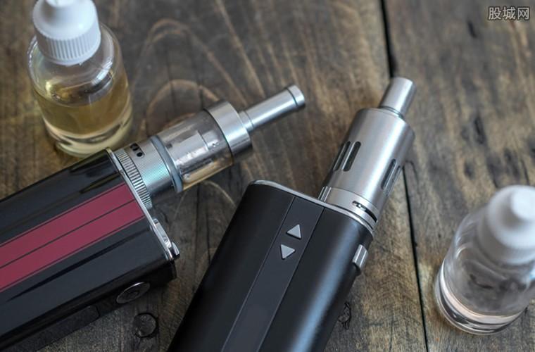 美国电子烟产品被下架