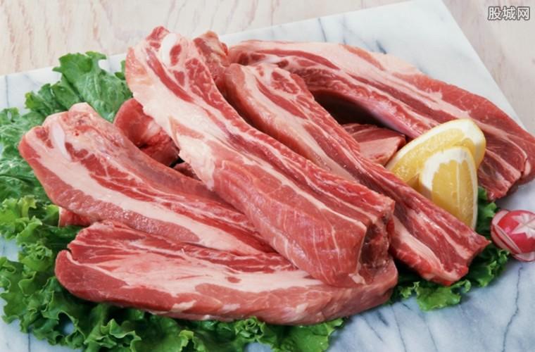 全国猪肉价格走势