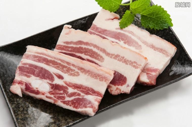猪肉价格下降了