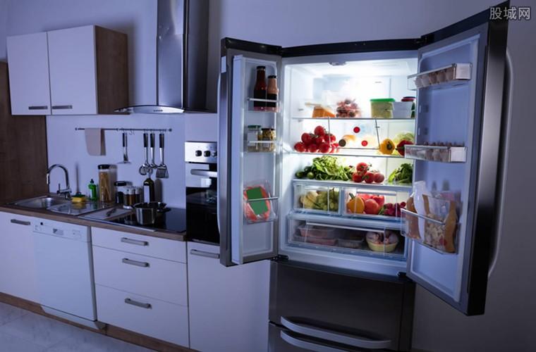 美国消费者排队买冰箱