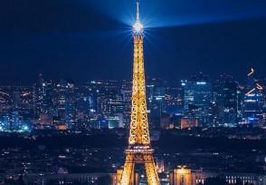巴黎凯旋门恢复开放 参观者入内要戴口罩
