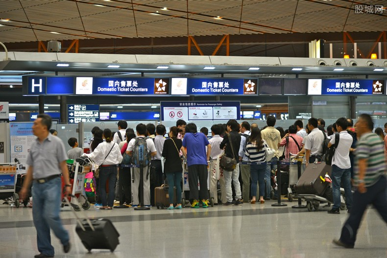 北京部分航班取消