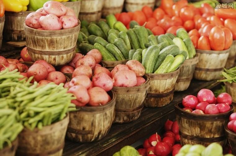 蔬菜供应稳定