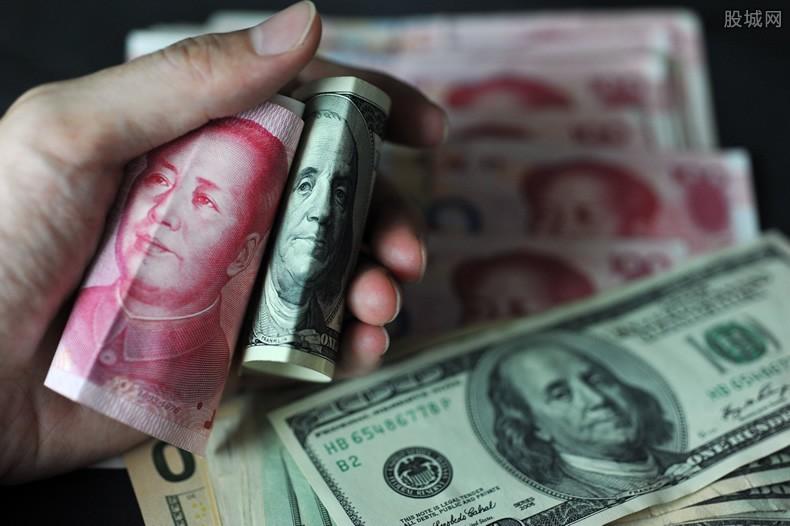 美金兑换人民币汇率