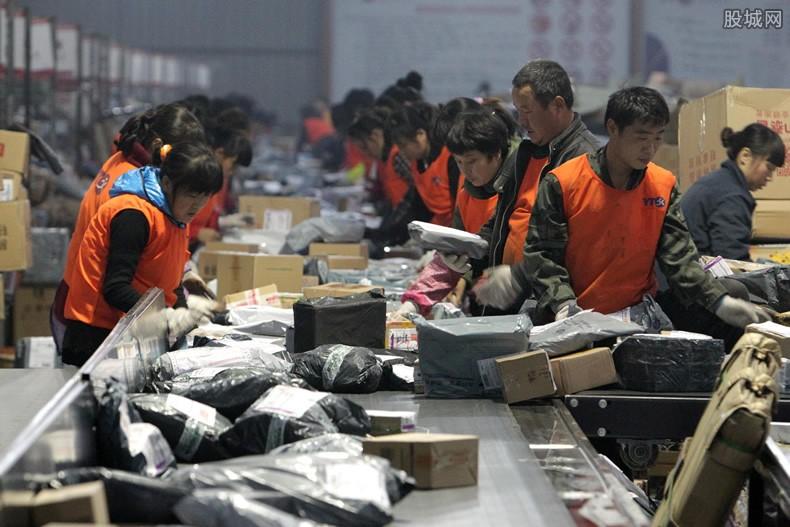 中国十大快递公司