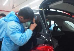 汽车贴膜一般多少钱全车一套贴下来大概要这个数!