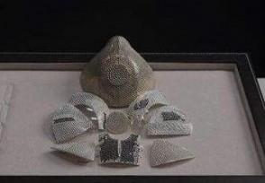中国商人买下标价1000万元口罩世界最昂贵口罩!