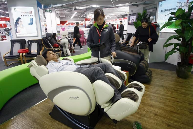 韩国按摩椅销量