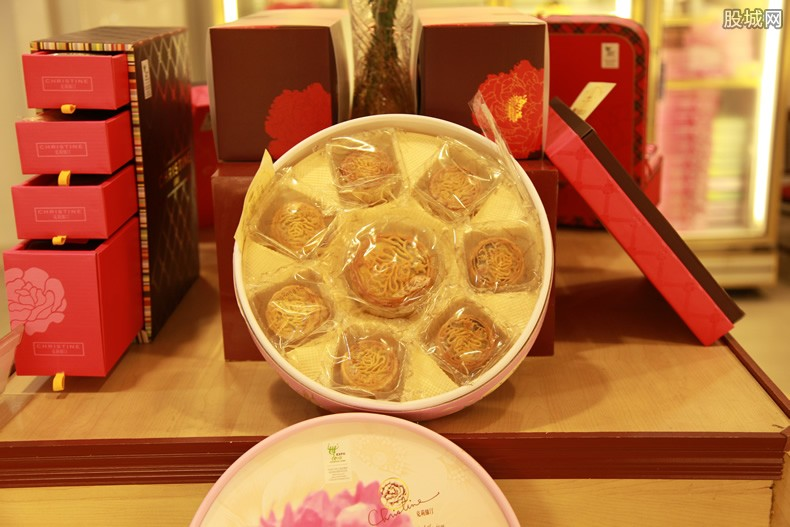 中秋节送月饼
