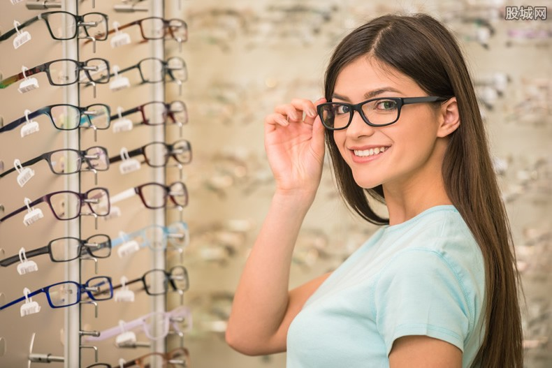 眼镜架多少钱