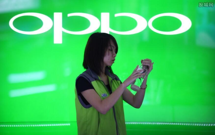OPPO手机销量