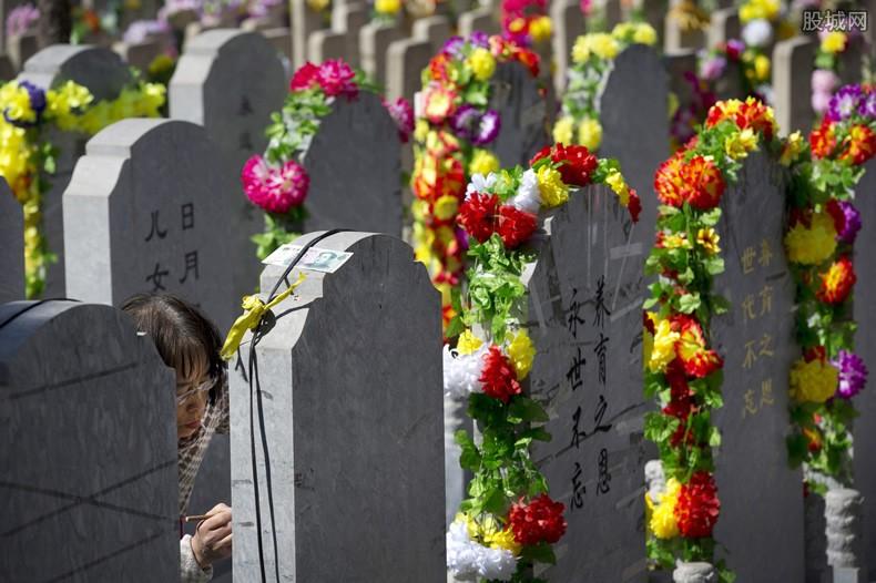 墓地价格上涨