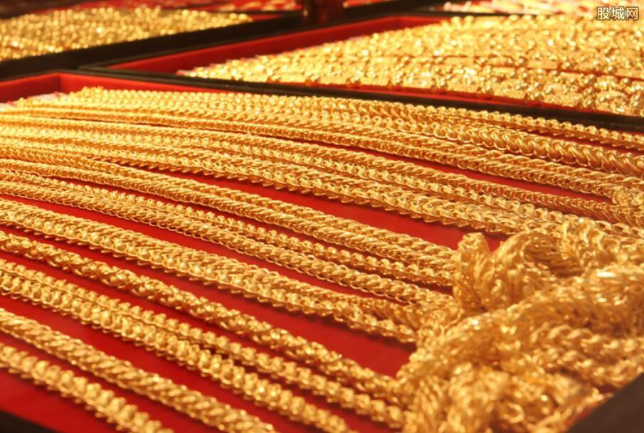 国内黄金价格走势