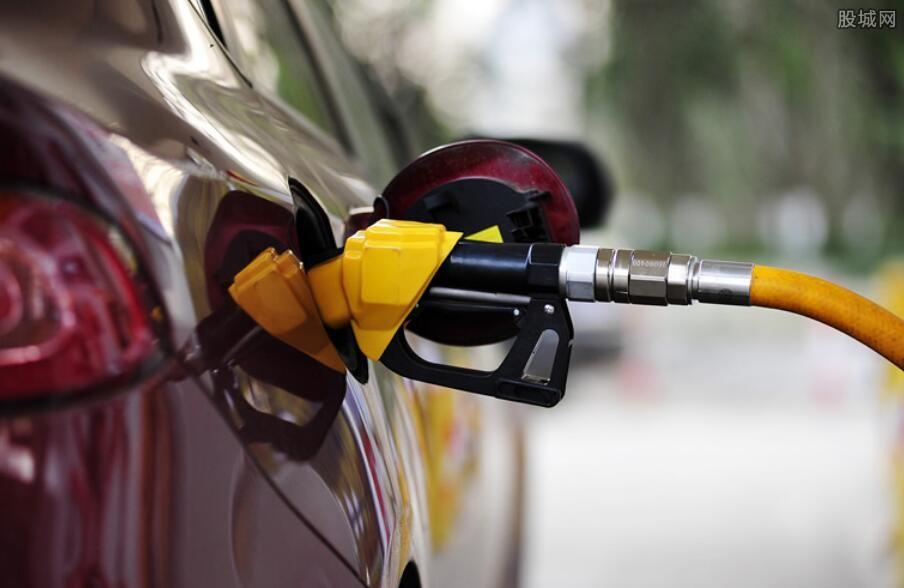 全美汽油价格走势