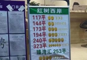 深圳现榴莲报房价 富人区标价新方法火了!