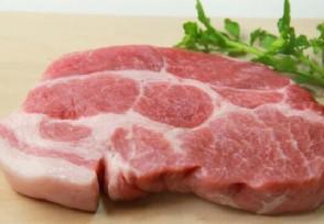 猪肉价格已跌19周目前多少钱一斤?