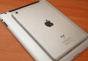全新iPad mini被曝 无Home键全面屏设计